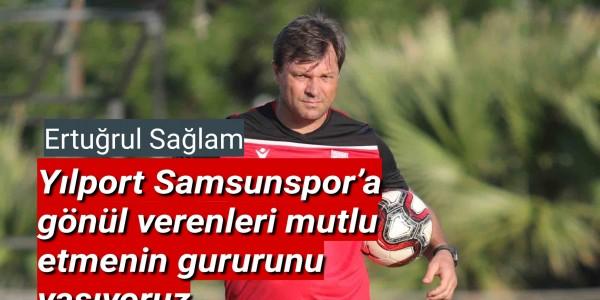 Samsunspor Teknik Direktörü Ertuğrul Sağlam dan açıklama